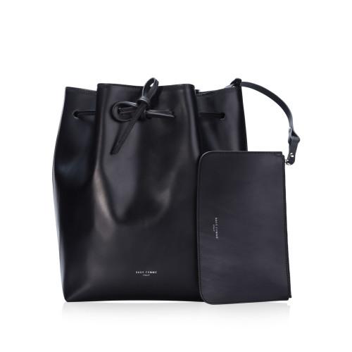 Black Bucket Bag Image