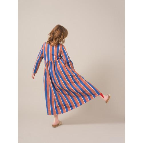 Bobo Choses Awning Stripes Princess Dress Image