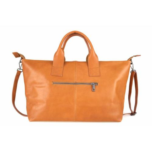 Monroe , Large Leather Handbag , Red Image