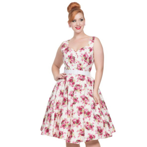 Nicolette Floral Swing Dress Image