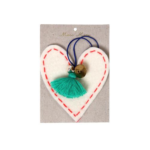 Heart Felt Tree Decoration (sale) Image
