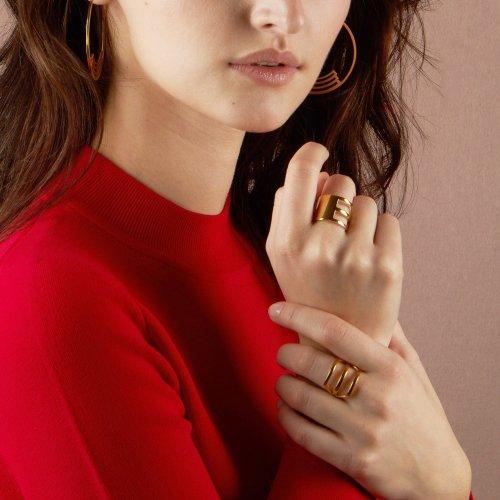 Gold Tempus Ring Image