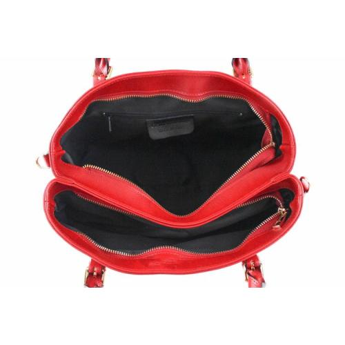 Laila , Leather Handbag , Red Image