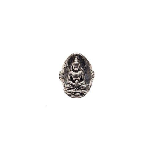 Namaste Buddha Ring Image