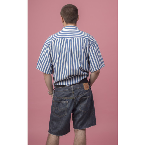 Striped Short Sleeve XL Shirt Image