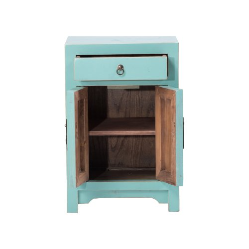 Chinese Bedside Cabinet Shandong Style Image