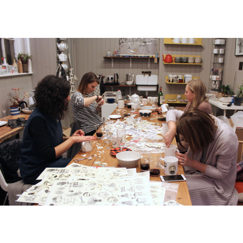 Ceramic decorating workshop with Charlene- Thursday 11th of May Image