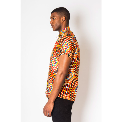 Farafeni - Short-Sleeved Shirt - Men's Image