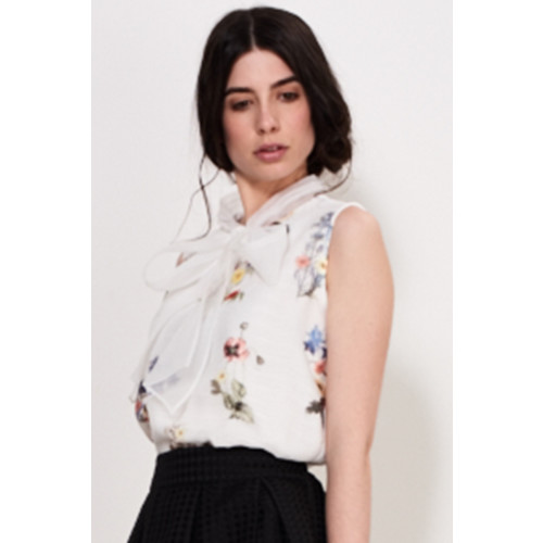 FLORAL MAJOR BOW TOP Image