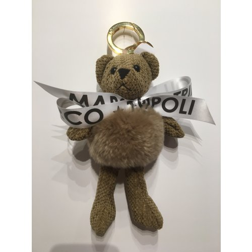 Billy , Teddy Keyring or Charm , Taupe Image