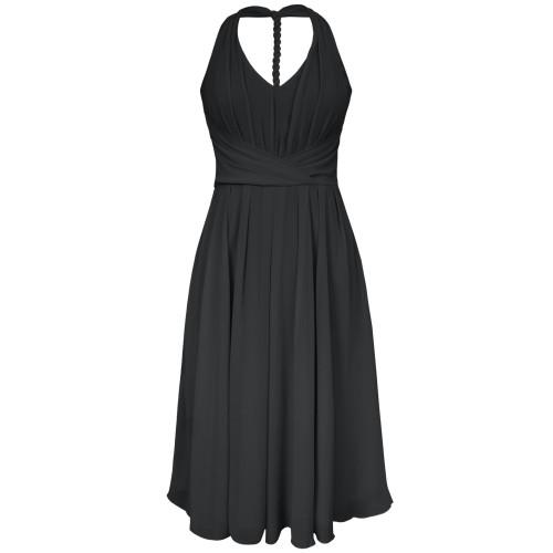 Marilyn Dress / Black / 8 Image