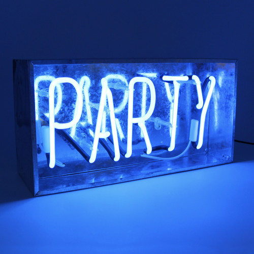 'Party' Neon light Image