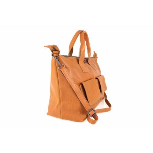 Monroe , Large Leather Handbag , Black Image