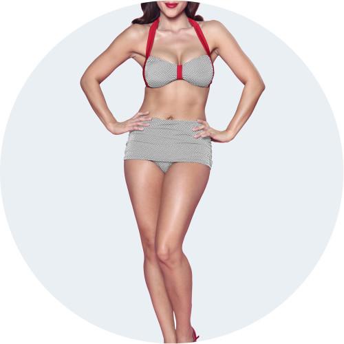 Retro Vintage Bikini Image