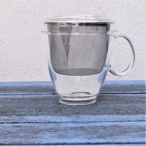 Glass Tea Cup + infuser Image