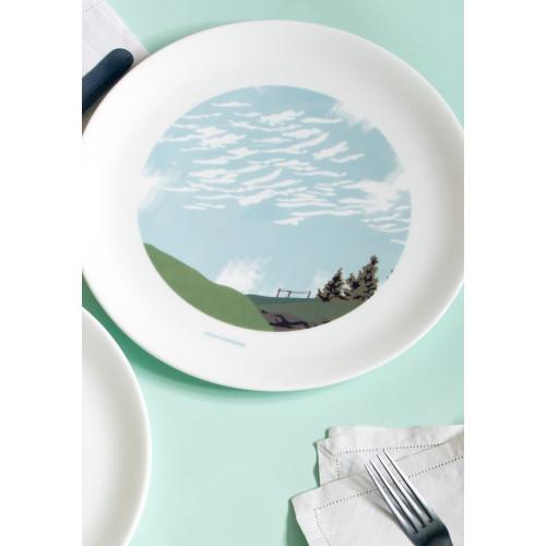 Cirro Cumulus Clouds Dinner Plate Image