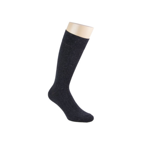 SOLID CASHMERE AND COTTON SOCKS Image