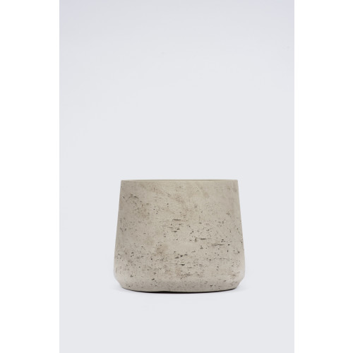 Cement Curved Pot Image