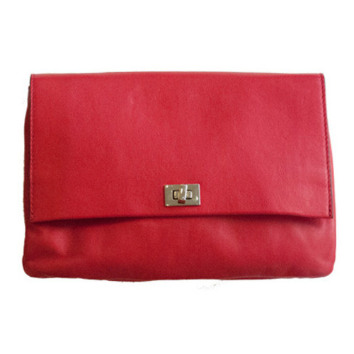 Red Leather Bag Image