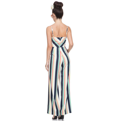 Zarah Striped Jumpsuit Image