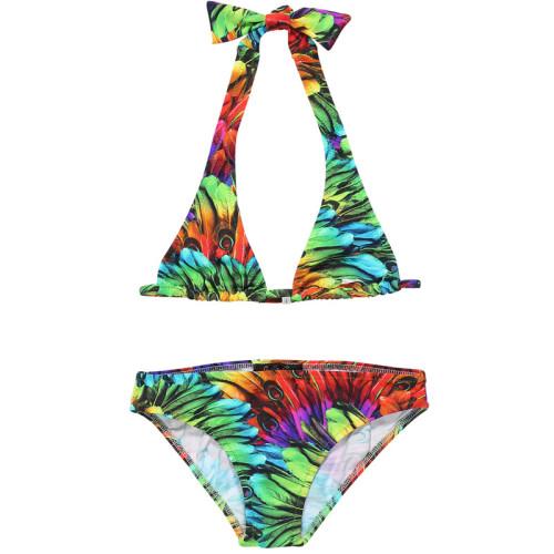 Bikini Feather Print Image