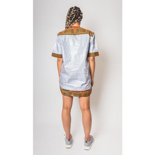 Bambali Dashiki - African Dress - Women's Image