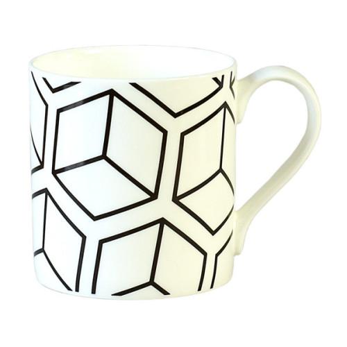 Black Cube Mug Image