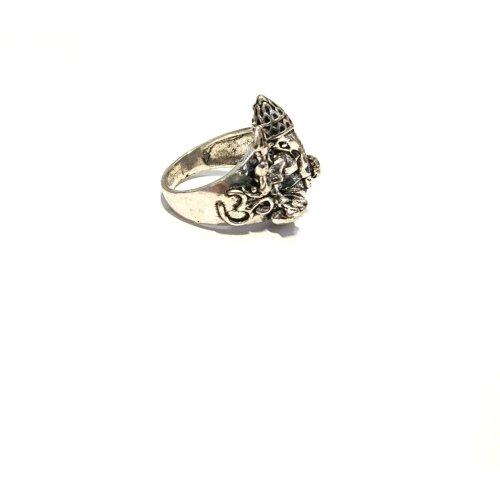 Engraved Ganesh Ring Image