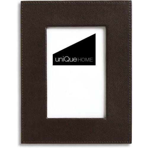 Luxury Leather frames Black Image