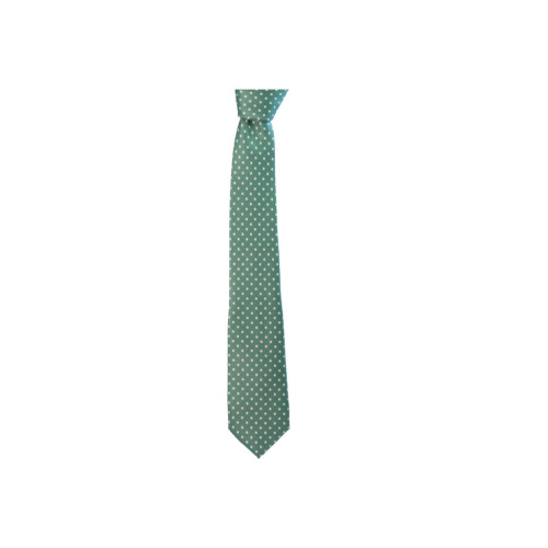 DOTTED PRINTED SILK TIE Image