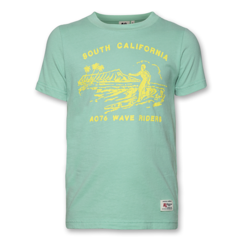 American Outfitters Peppermint Wave Tshirt Image