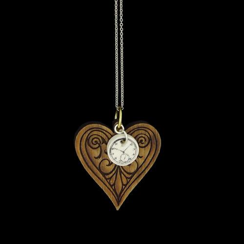 Engraved heart pendants 2 Variations Image