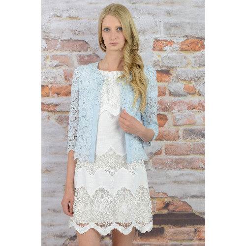 BEADED FLORAL CARDIGAN Image