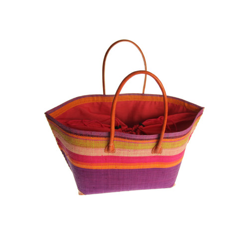 Raffia Beach Bag - 2 Colour Options Image