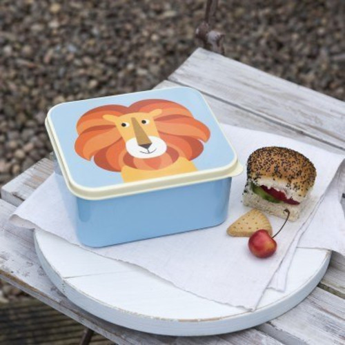 Kid's lunch boxes - Lion Image