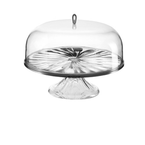 LOOK CAKE STAND WITH DOME BY GUZZINI Image