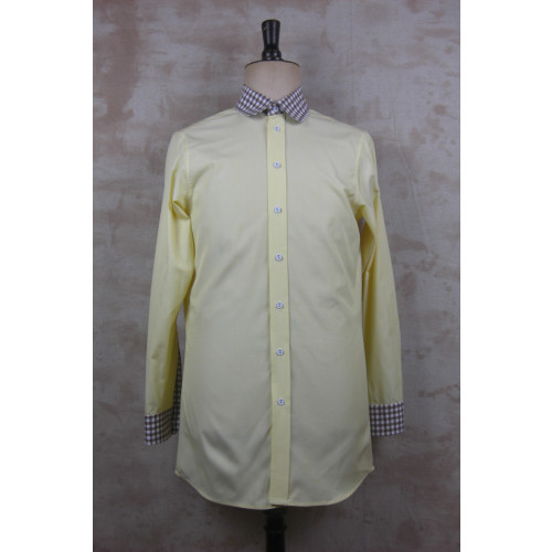 GINGHAM CONTRAST SHIRT Image