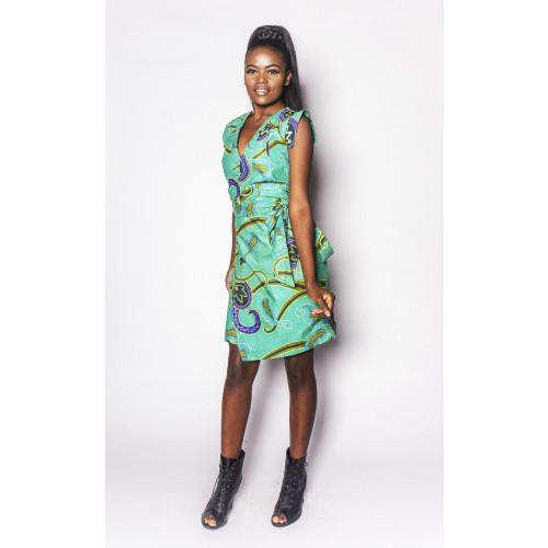 Dimbaya - Wrap Dress - Women's Image