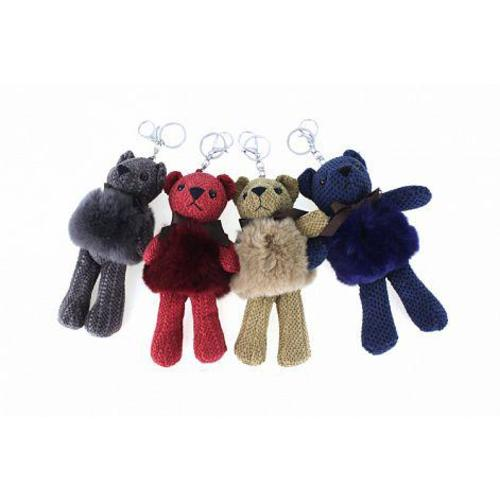 Billy , The Teddy Keyring or Charm , Red Image