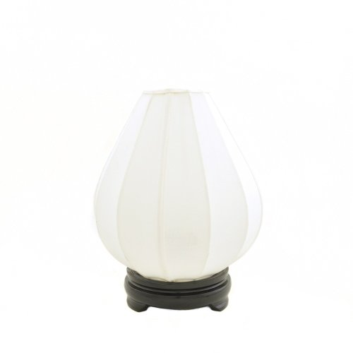 Chinese Silk Tulip Table Lamp Image