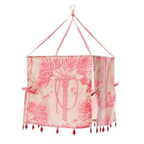 Pink Palm Tree Lampshades Image