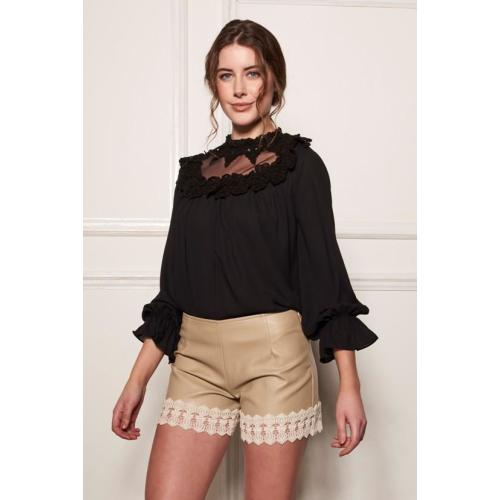 AW - HIGH NECK BLOUSE Image