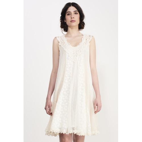 COMBO LACE DRESS Image