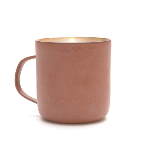 Red Clay and Silver Glaze Mug 007 Image