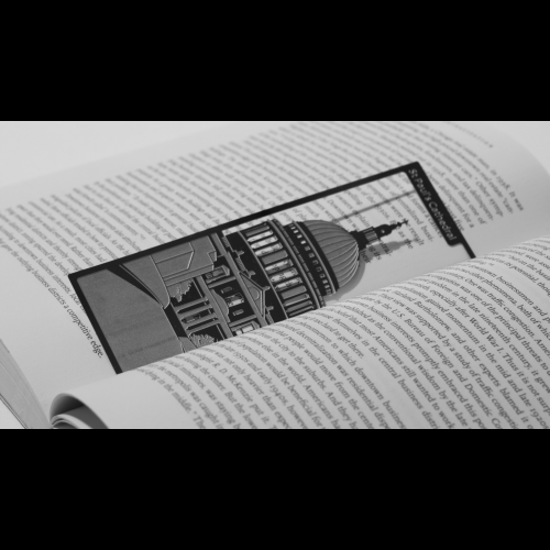 St. Paul's Cathedral - Stainless Steel Bookmark Image