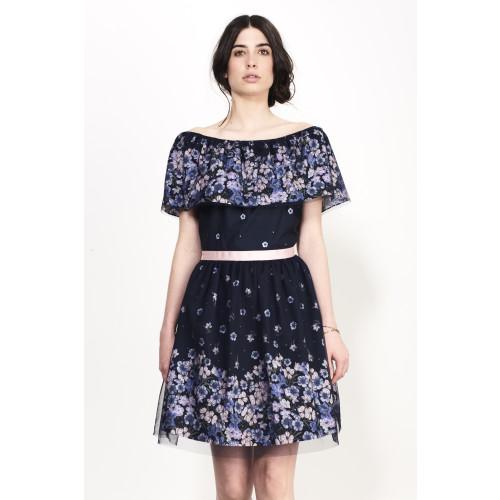 Garden Ruff Dress Image