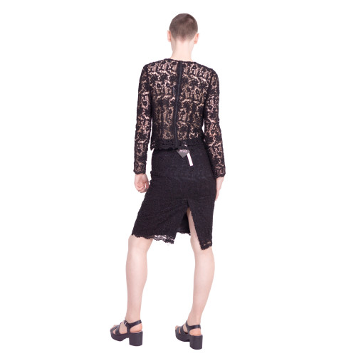 wool chemical lace skirt Image