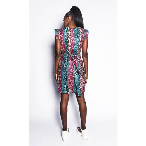 Fatik - Wrap Dress - Women's Image