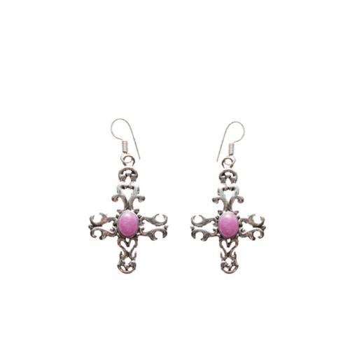 Fiery Cross Earrings Image