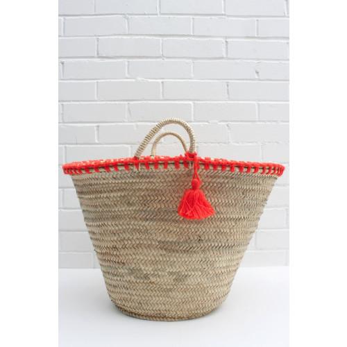 Bohemia Mexicana Basket Orange Image